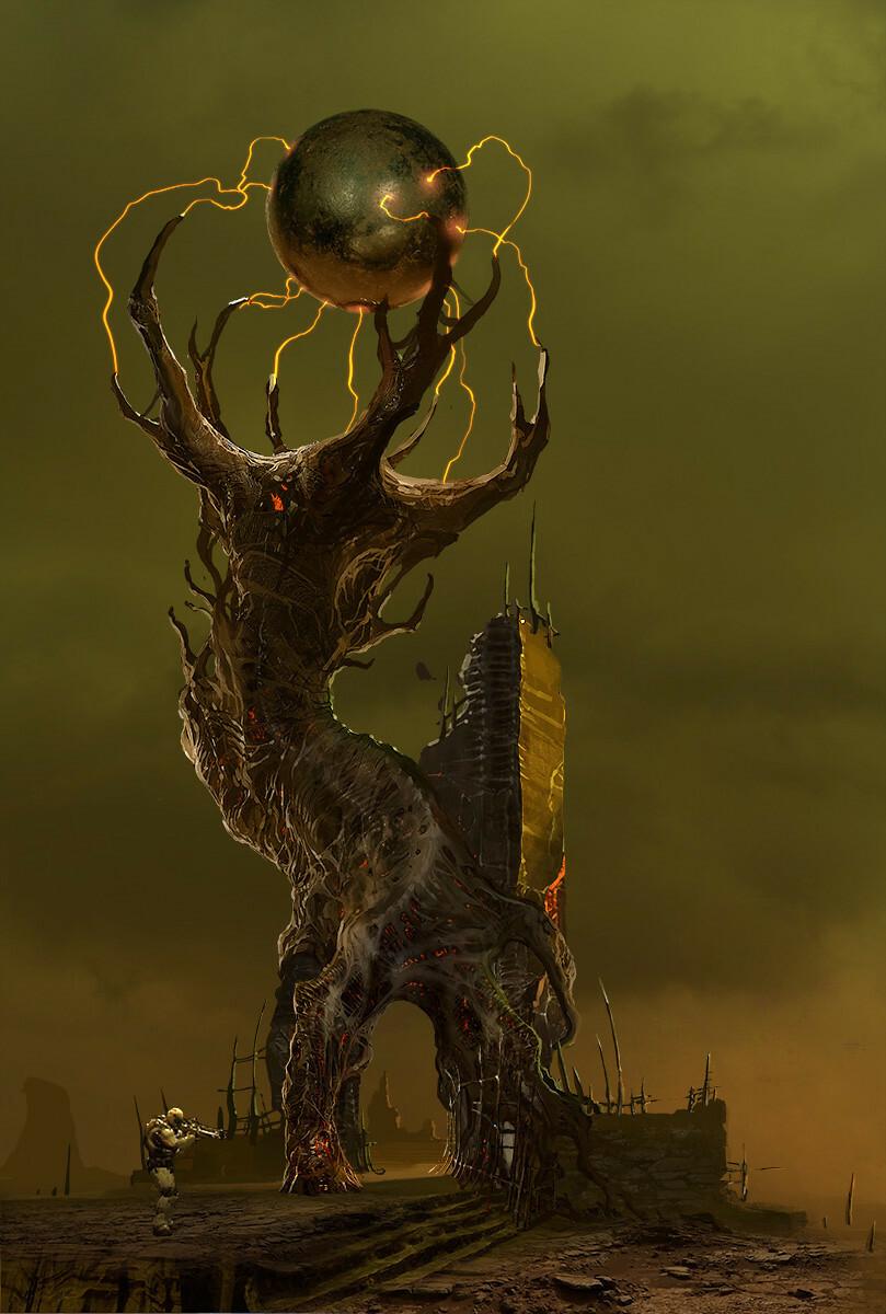 Doom 2016 Hell Tree