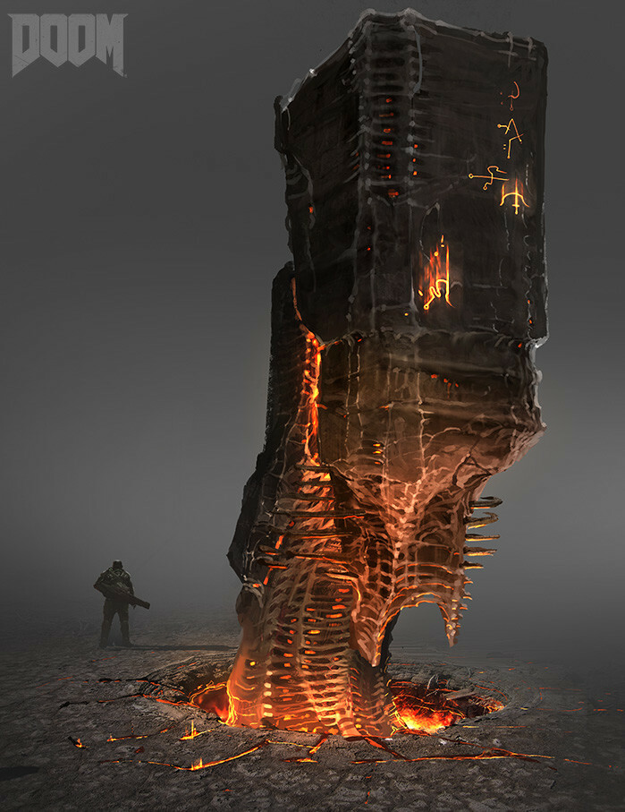 Doom 2016 Hell Monolith