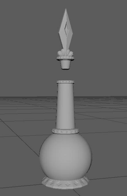 Health Bottle Model