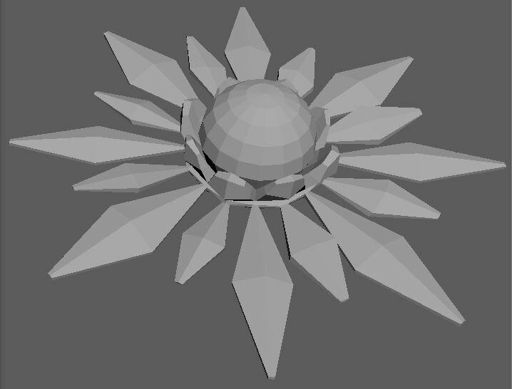Ice Flower Model