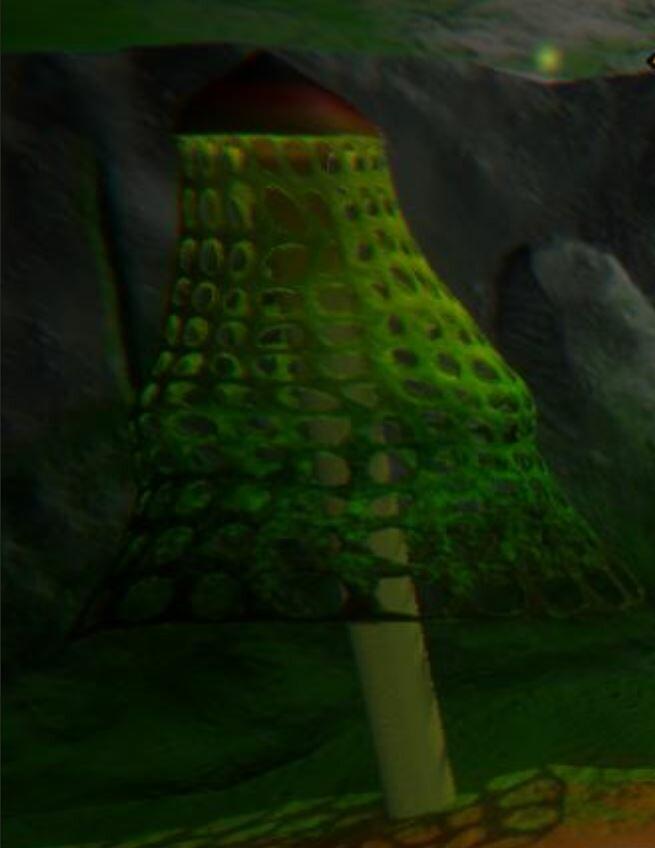 Bridal's Veil Tree In Game
