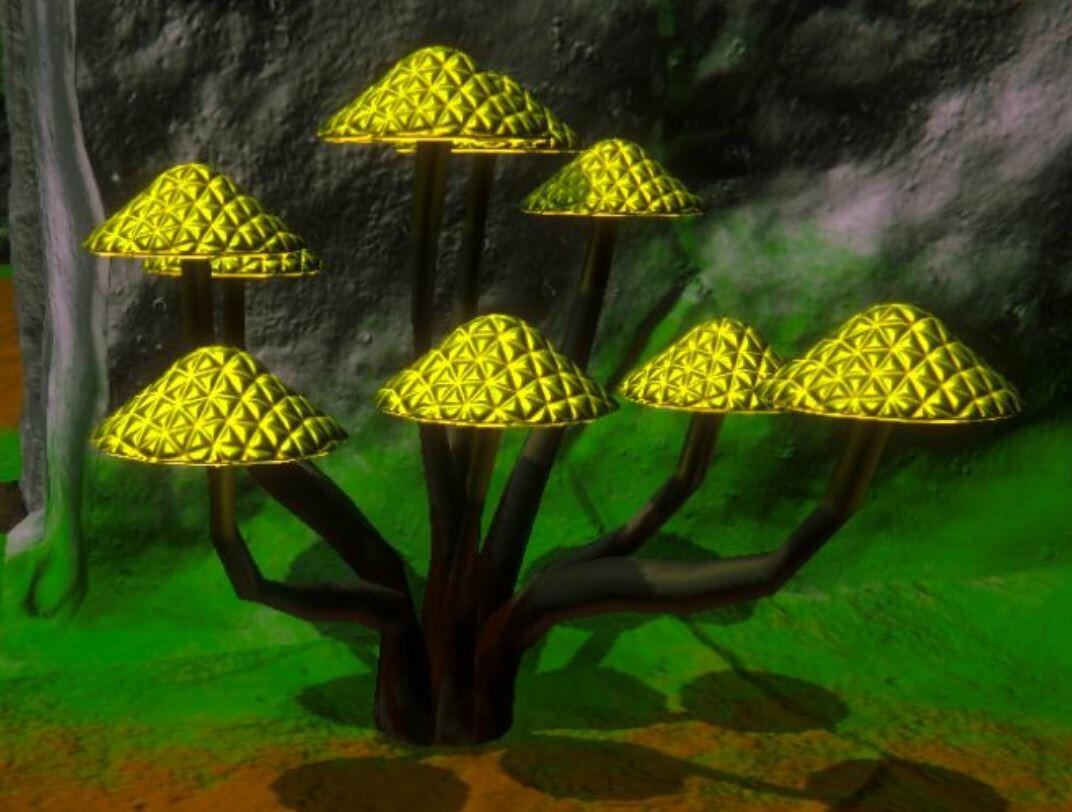 Glowshrooms In Game