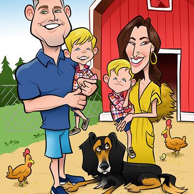 Steve rampton chx family