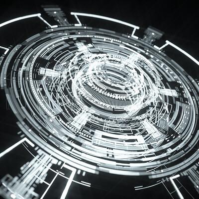 Johan de leenheer animated sci fi elements set1 preview 7