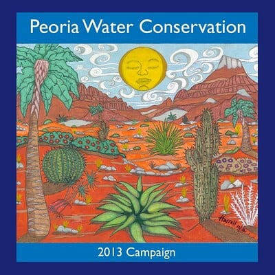 Winston harrell jr peora water conservative art
