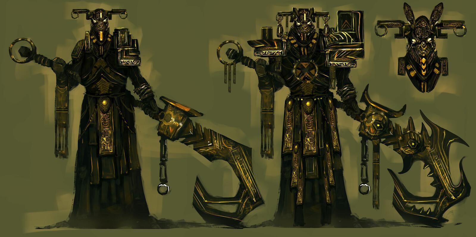 Fantasy Characters Concepts