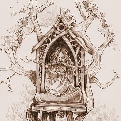 Anthony greentree greenman treehouse 6
