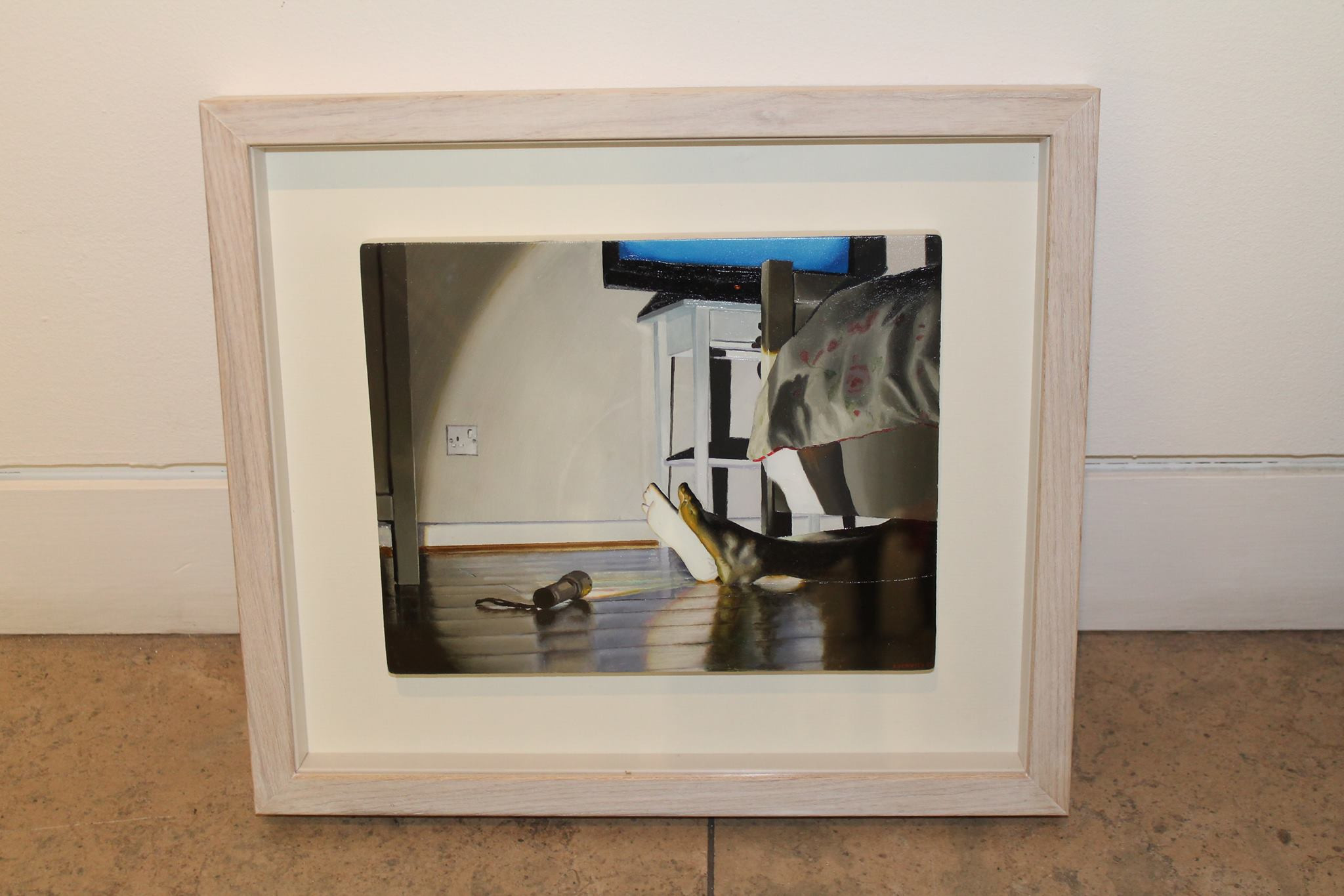 Framed Oil Painting. 2015. RHA 185th Annual Exhibition