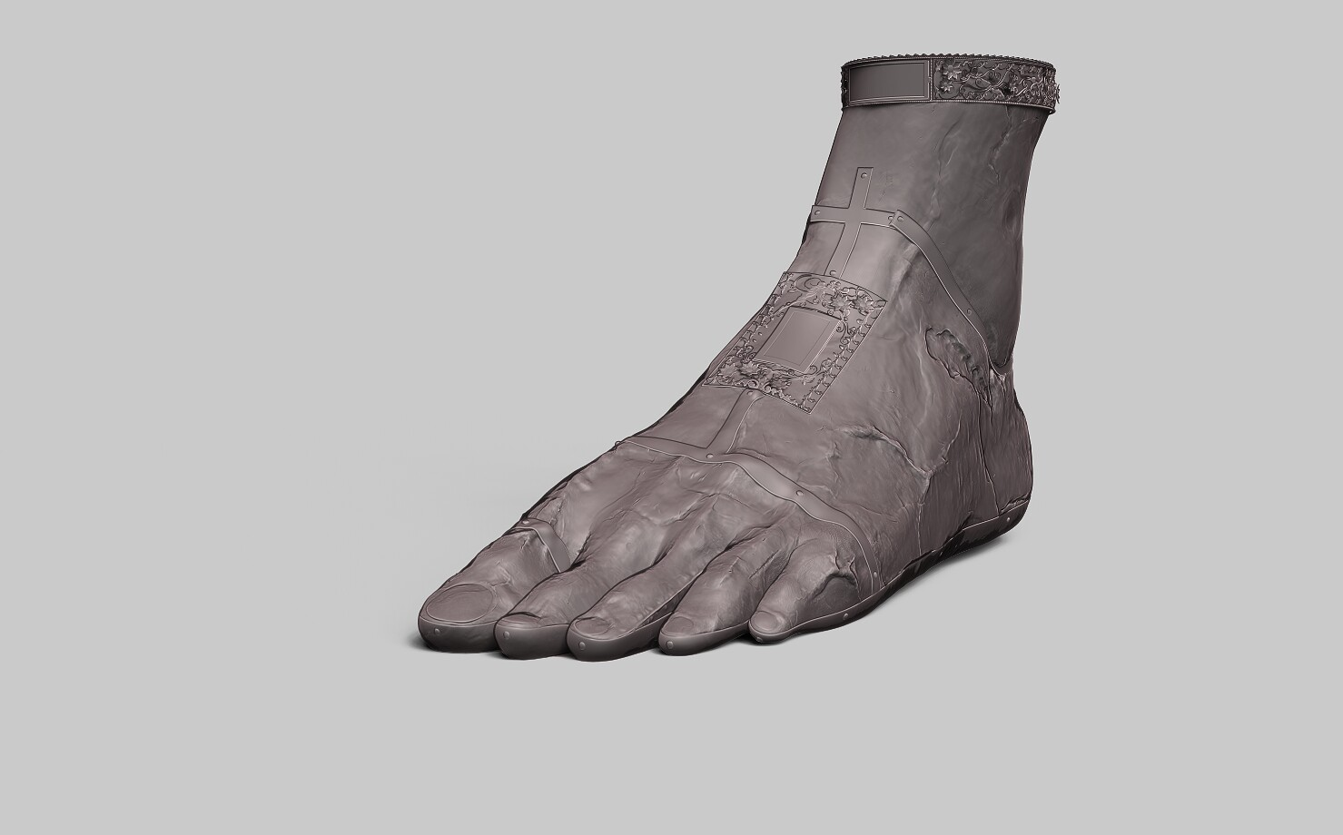 Nimue Foot High Poly
