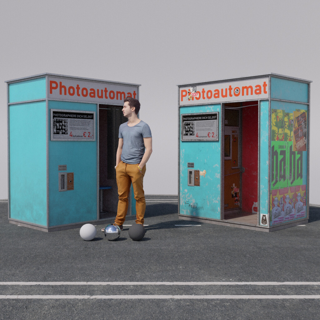 Berlin Photoautomat Render