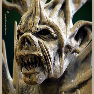 Surajit sen treeorc digital sculpture surajitsen jul2020a