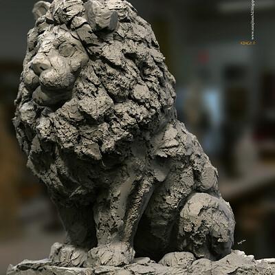 Surajit sen king digital sculpture surajitsen jul2020a