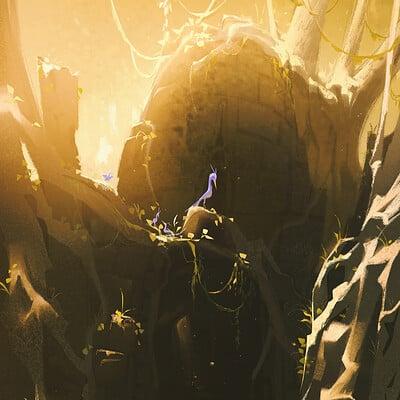 Iris muddy temple