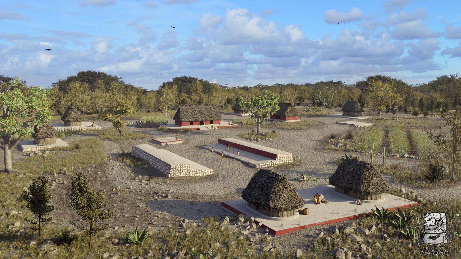 El presente trabajo se enfoca en representar y recuperar visualmente, a partir de un modelo virtual, el pasado y la cotidianeidad histórica en las Chan Acrópolis de la región noroeste de Yucatán.