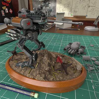 Robots v dinosaurs mech web