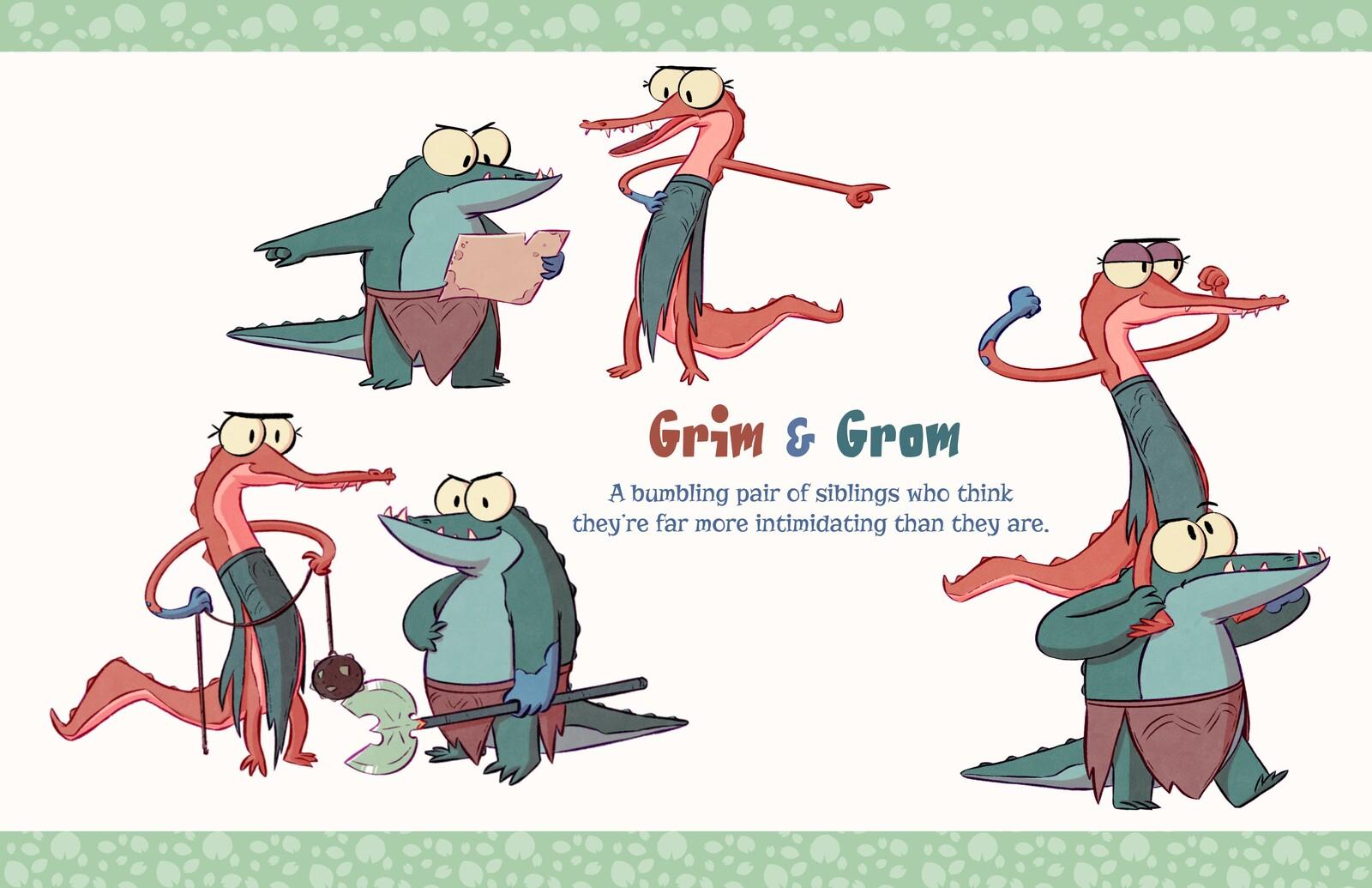 Wade's Glade - Grim&Grom
