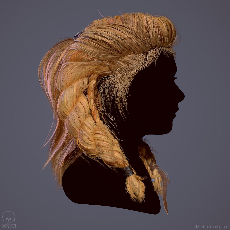 Sigrid - Hair Study