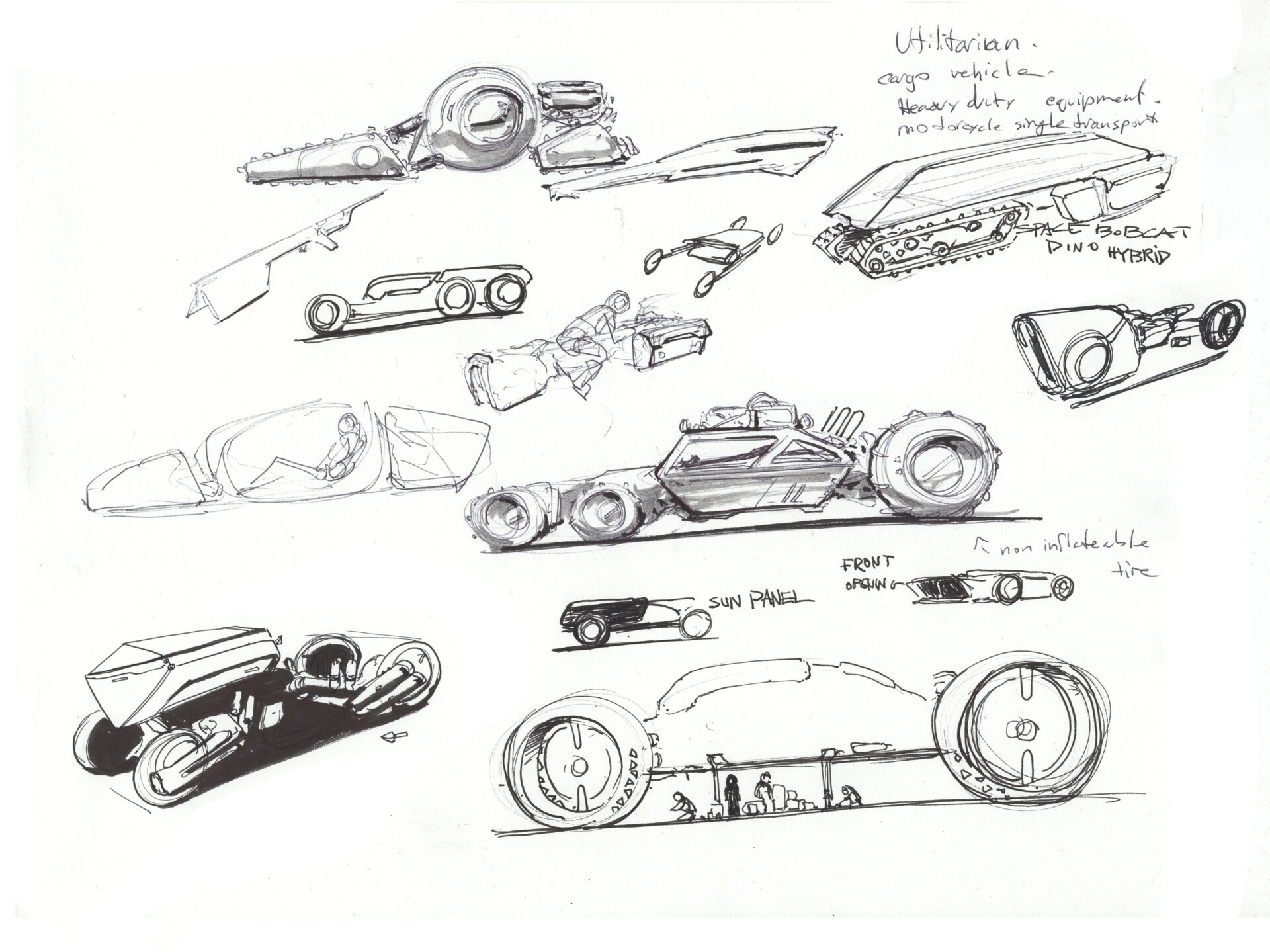 Space Rover Design. Thinking about the cabin and building around it. Want something that imbues speed and ruggedness.