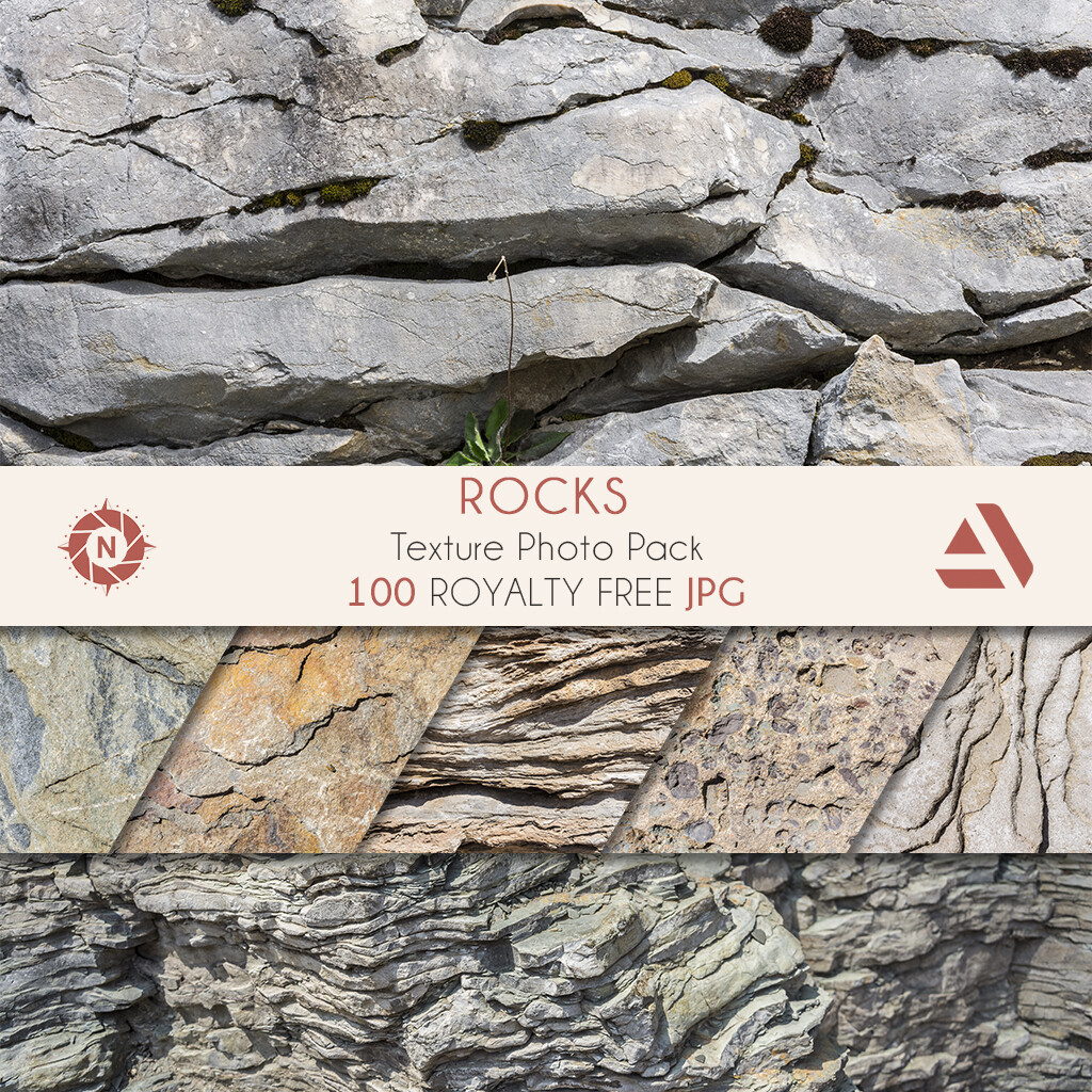 Texture Photo Pack: Rocks  https://www.artstation.com/a/165919