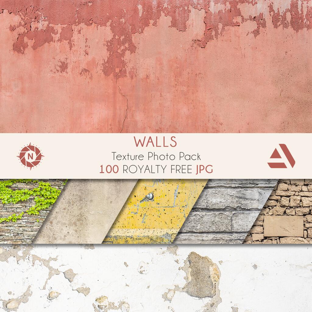 Texture Photo Pack: Walls volume 1  https://www.artstation.com/a/165851