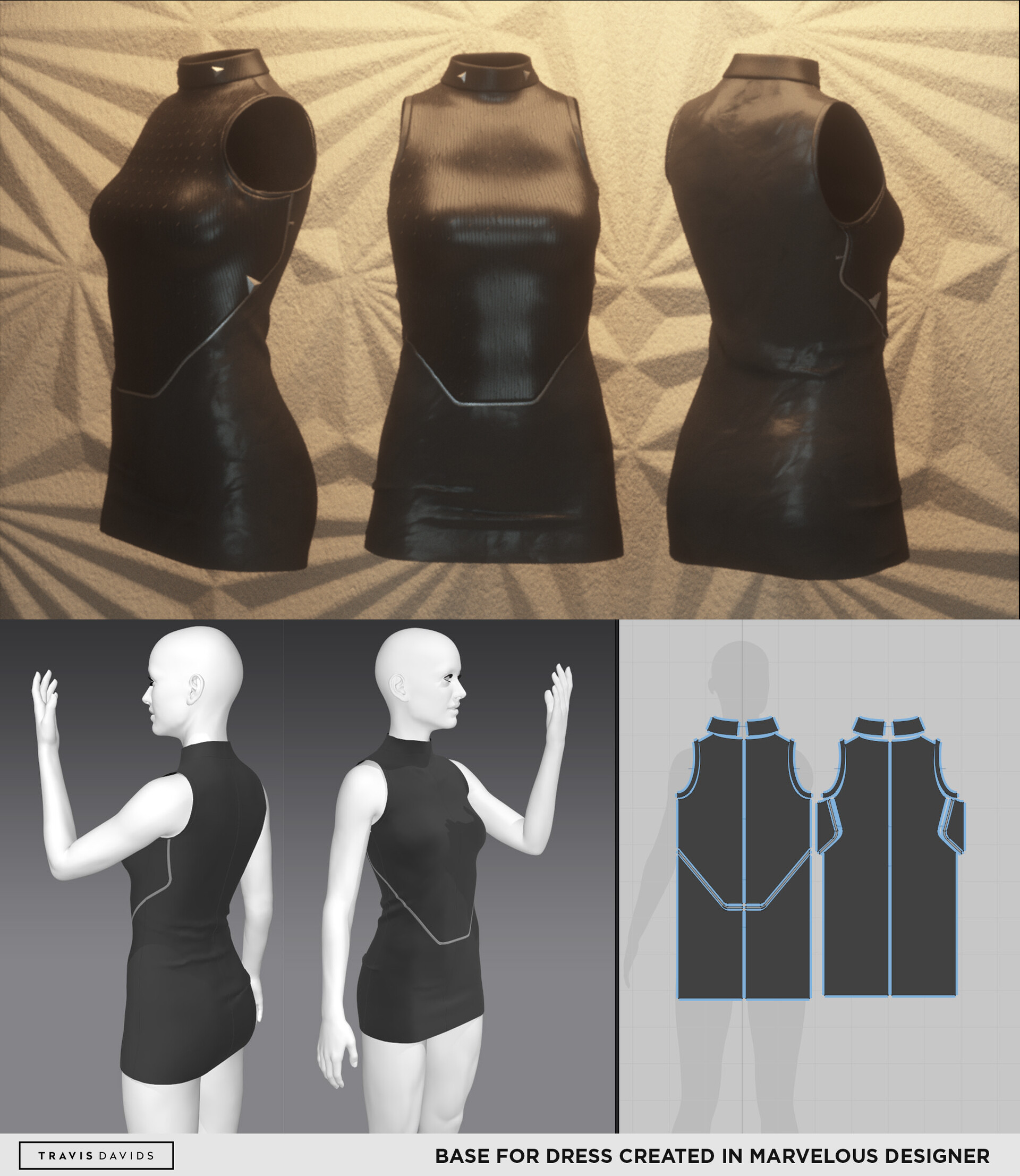 Marvelous Designer is my go-to for garment creation.