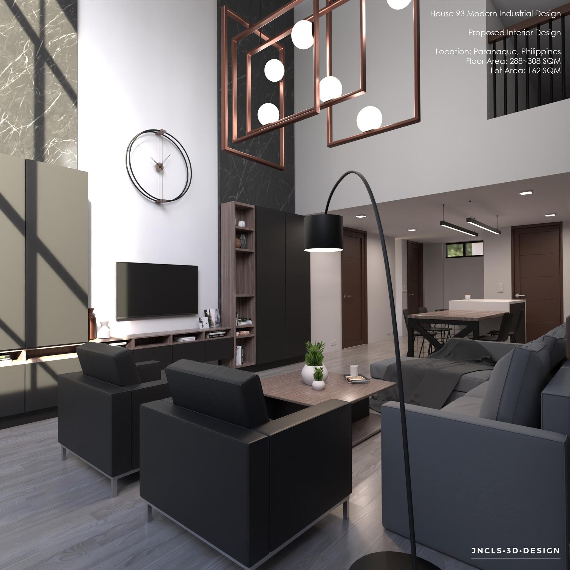 Artstation Modern Industrial Interior Design 2k Resolution Jan Rodolf Celis