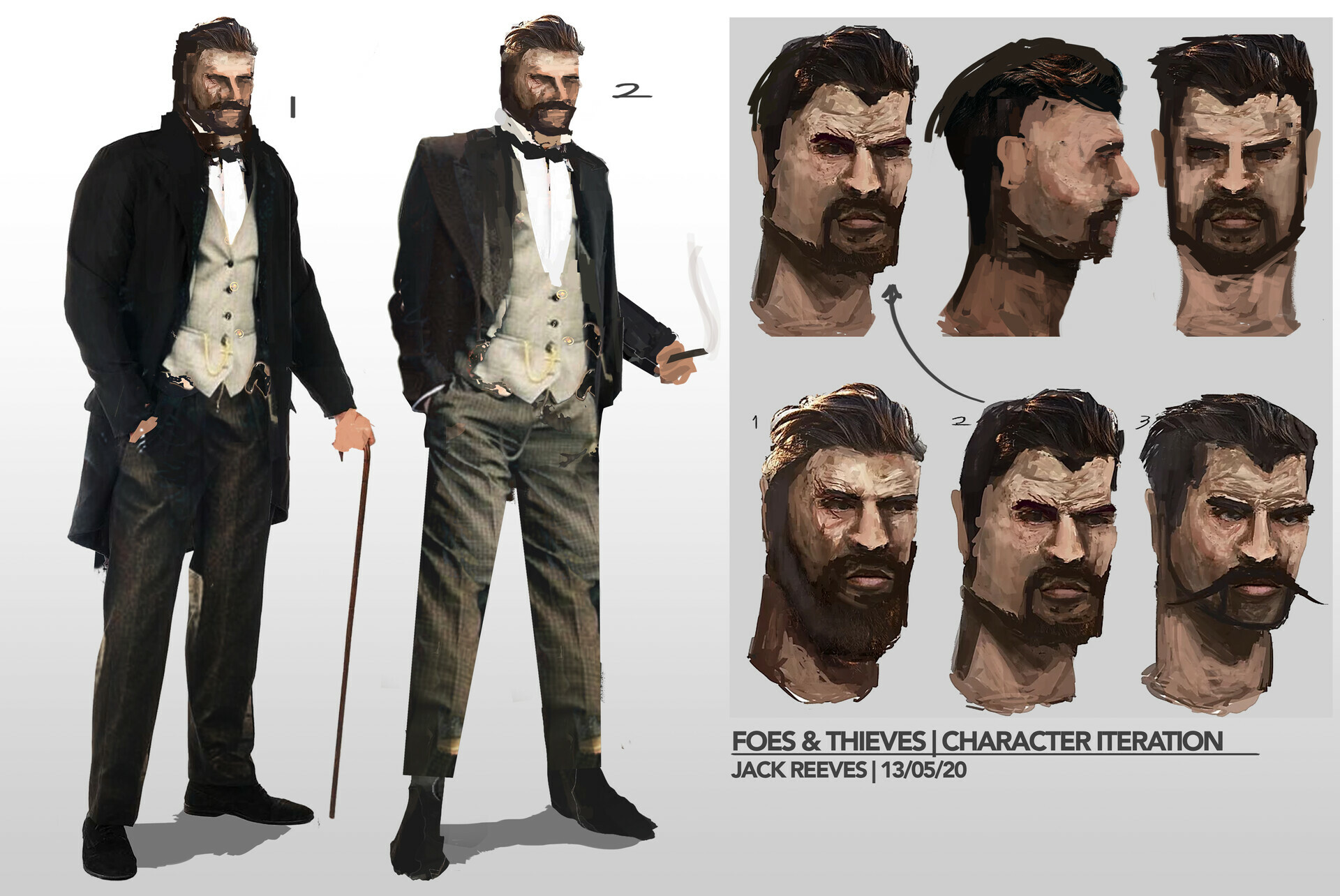 Foes & Thieves Character Design