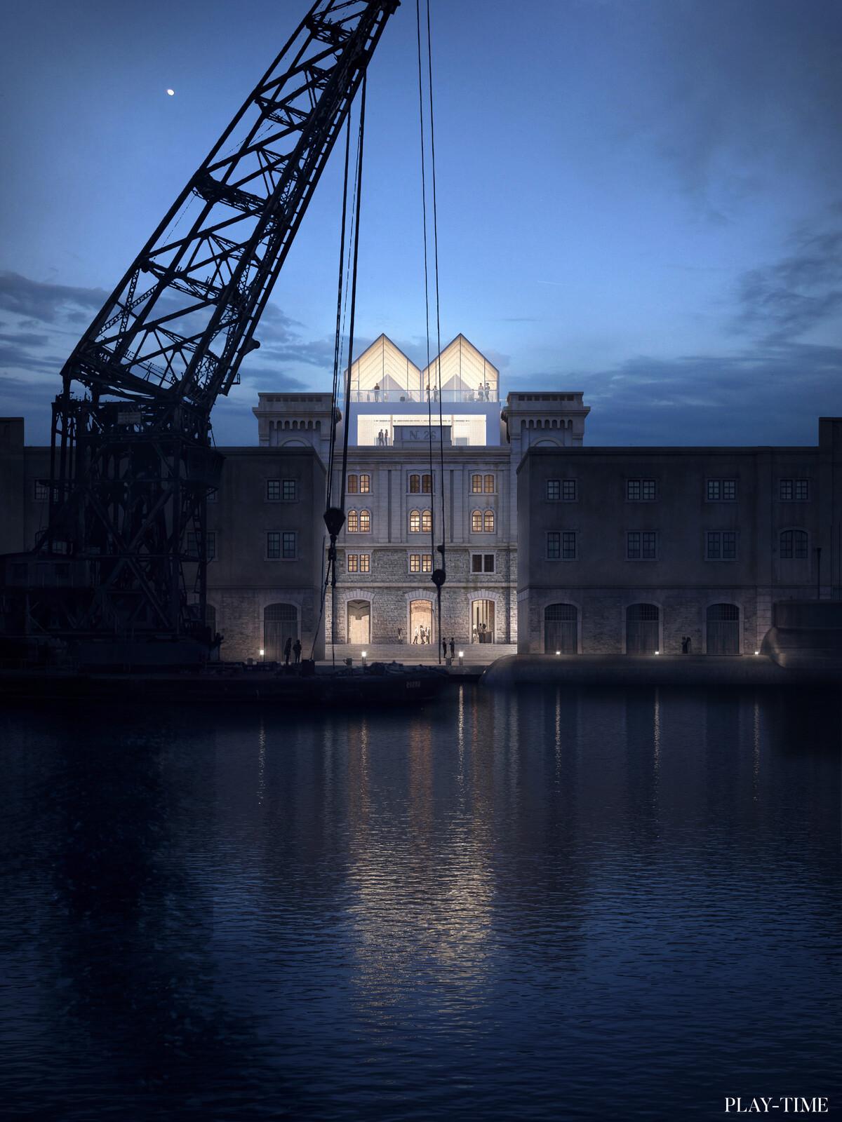 Sea Museum project in Trieste, Vazquez Consuegra