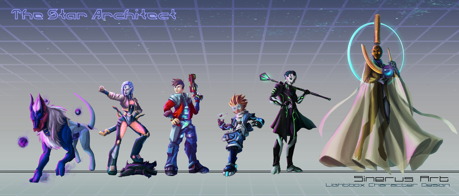 Character Line-up