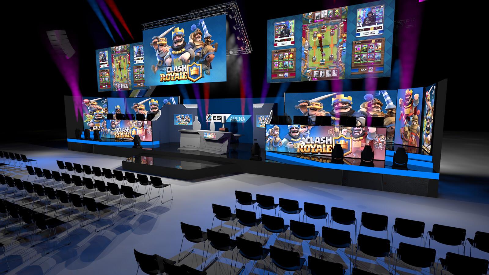ESL Arena Stage @ Gamescom 2017