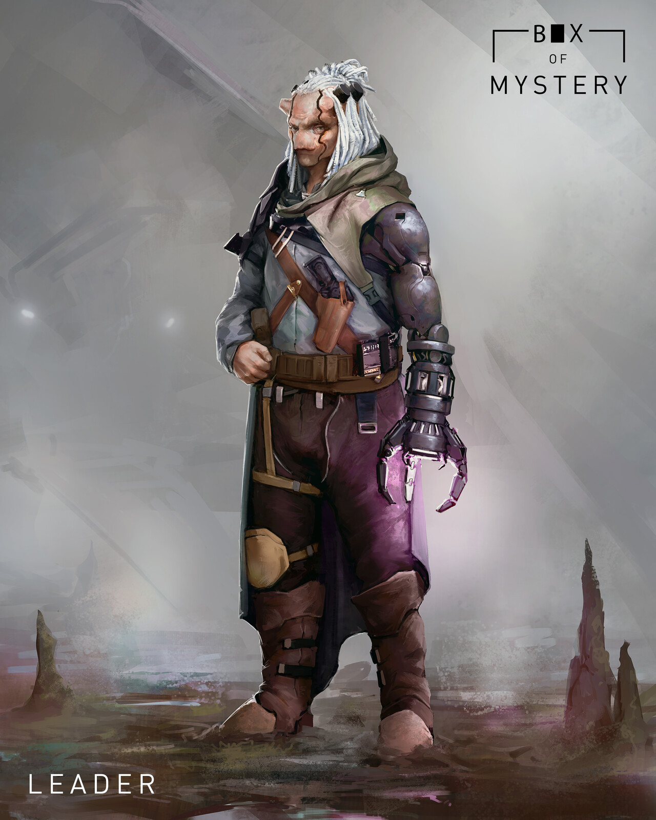 Challenge - Box of Mystery : Leader