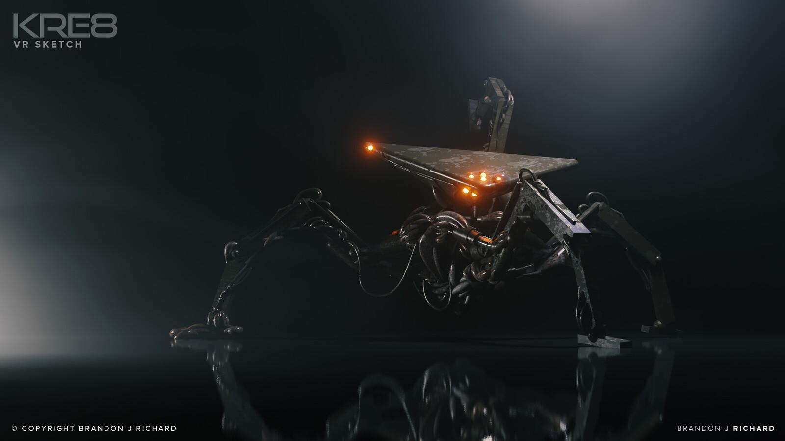 KRE8 - VR Creature Sketch