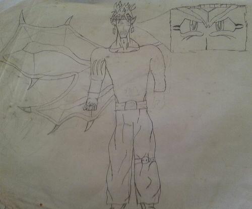 More old sketches, figuring out Draegon's finer details