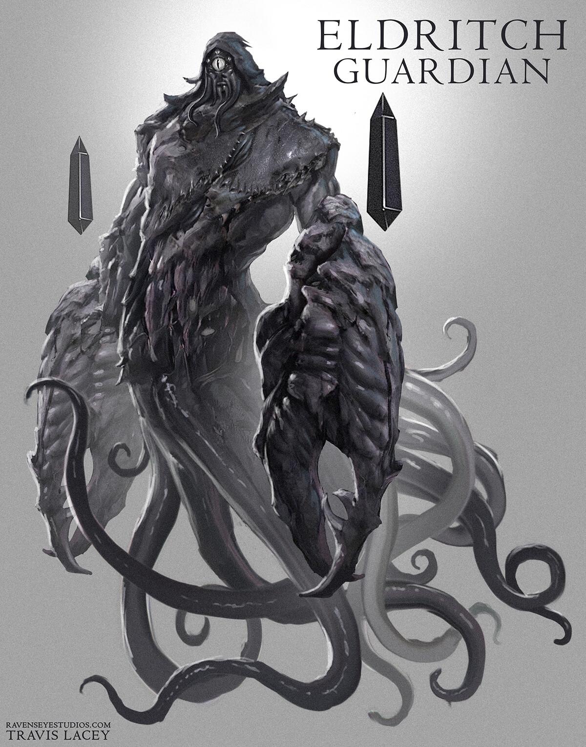 Eldritch Guardian - Monster concept