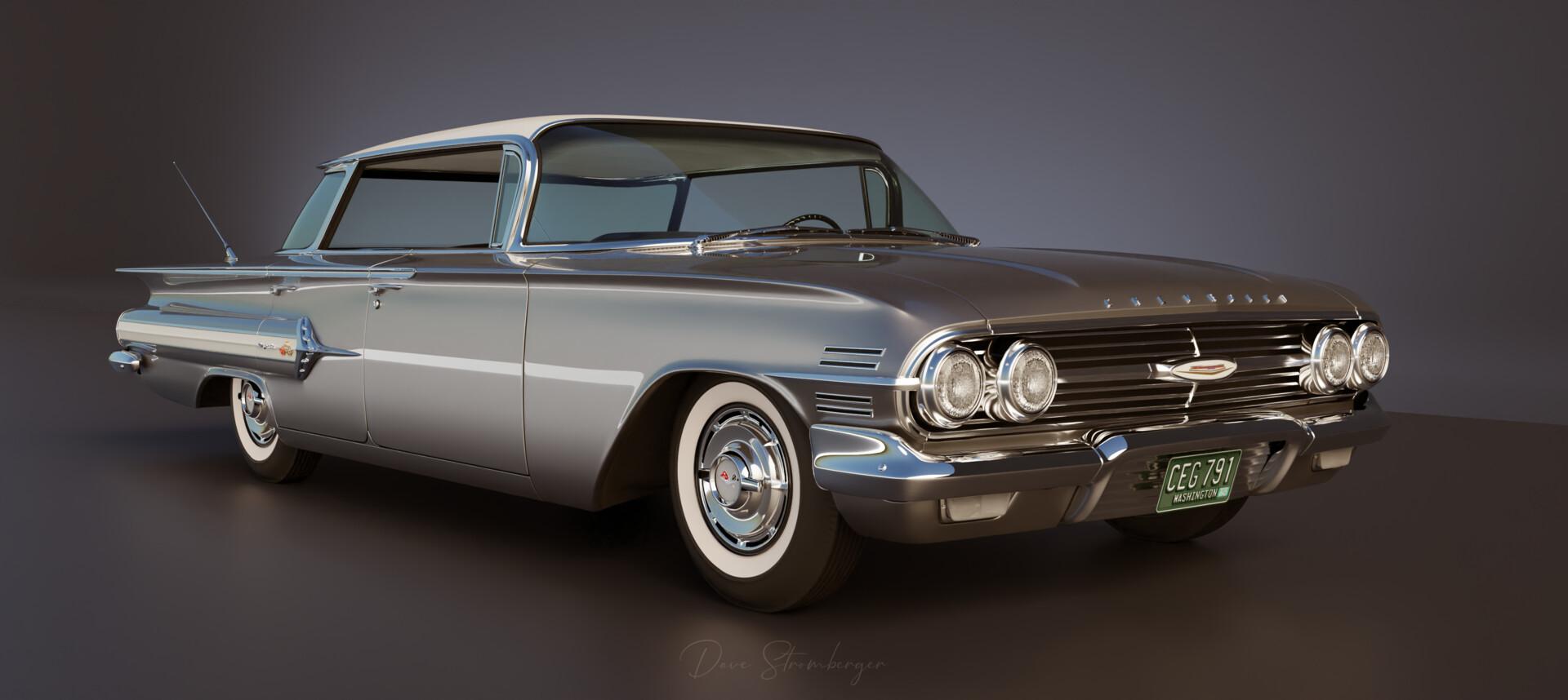 Dave Stromberger 1960 Chevrolet Impala Sport Sedan Silver