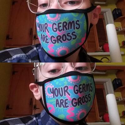 Bold egoist germs pic