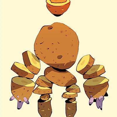 Satoshi matsuura 2020 07 13 potato golem s
