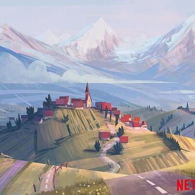 Clement dartigues swiss village concept 02