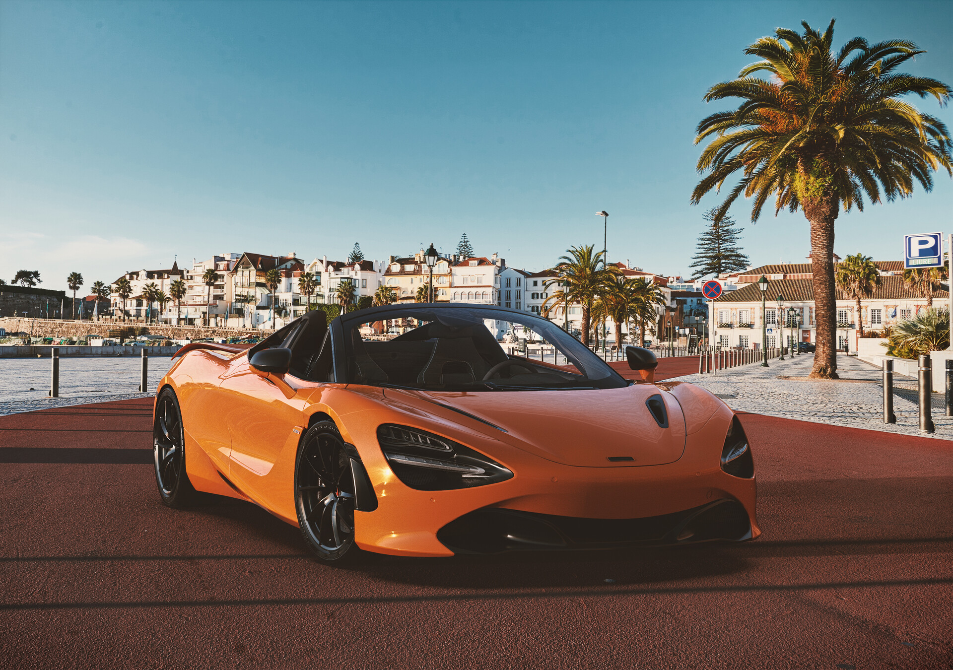 720S Spider MSO Orange