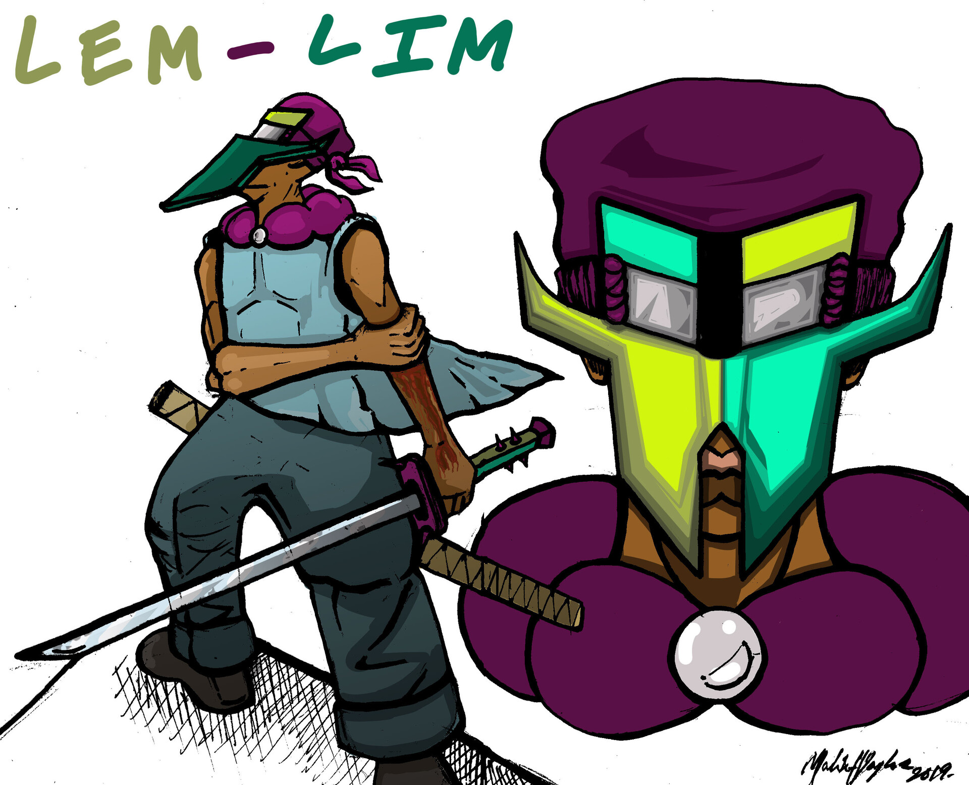 Artstation Hitman Assassin Lem Lim Final Character Design Malik Taylor