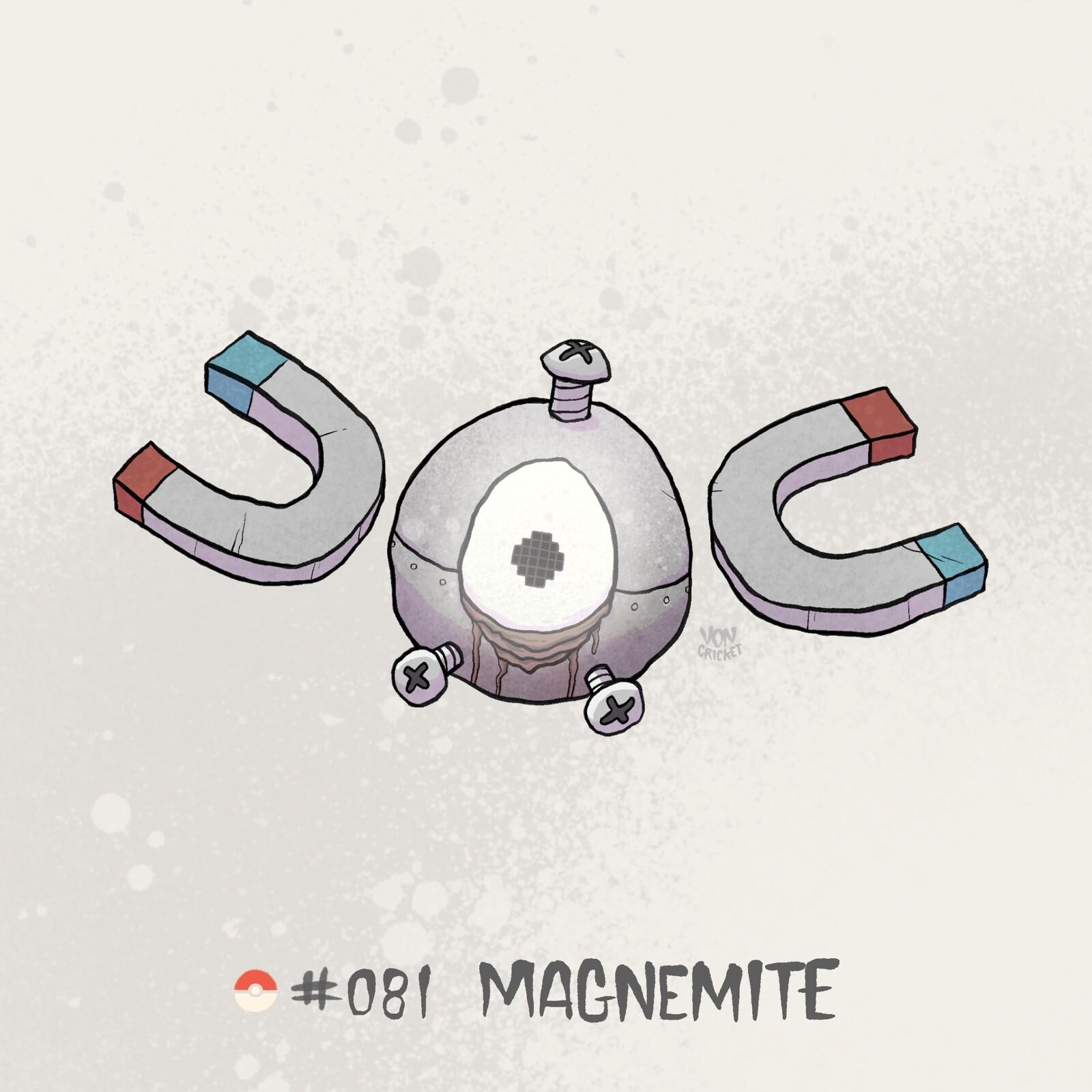 #081 Magnemite