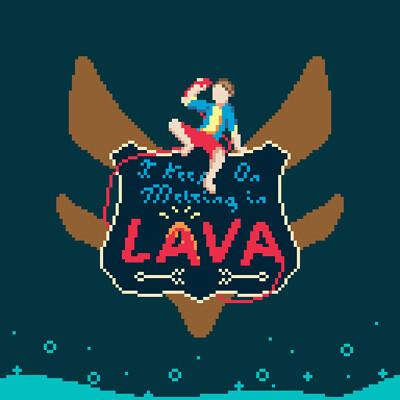 Alex illustration fox stevenson lava sprite