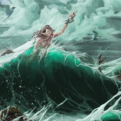 Theo legouis ocean painting correction