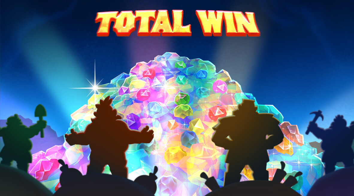 The total win screen