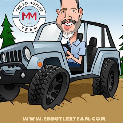 Steve rampton ed jeep