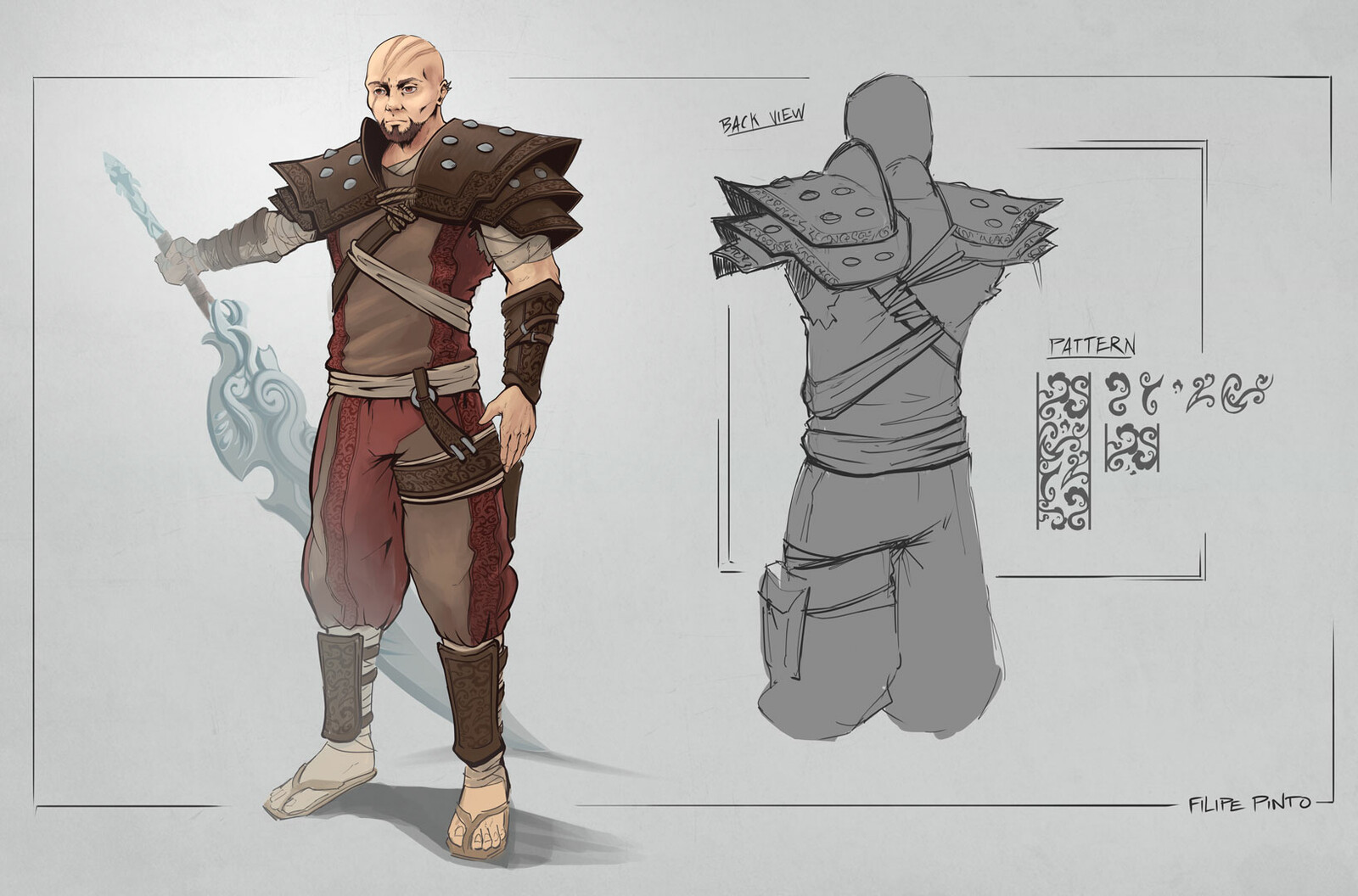 Character/Costume Design - First Set
