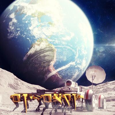 Dizzy viper lunar dynamics done
