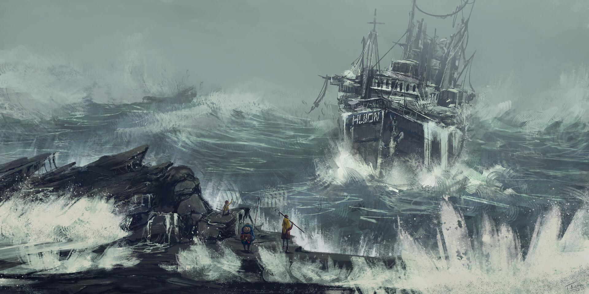 Huion Ship