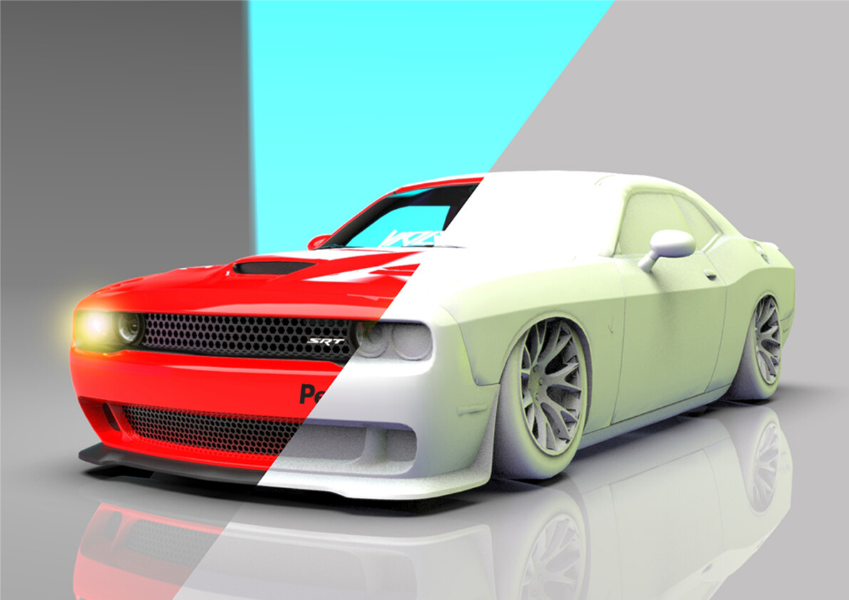Fajar Ismail Custom Dodge Challenger
