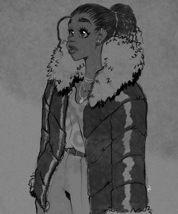 """ Puffy Coat """